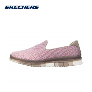 Skechers斯凯奇女鞋新款轻便健步鞋 时尚套脚休闲运动鞋 14014