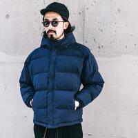 冬季日系短款潮牌男外套服男士加厚面包服潮