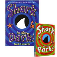 英文原版绘本 Shark In The Park 系列 2册吴敏兰书单 Nick Sharratt