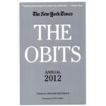 [C142] The Obits: Annual 2012 纽约时报年度讣告