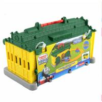 费雪托马斯小火车之提茅斯机房车库套装合金系列轨道儿童早教玩具