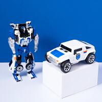 MINISO名创优品合金变形玩具汽车飞机机器人儿童手办模型耐玩趣味