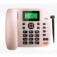 【当当新品】TCL插卡录音来电显示电话机 GF100VD 来电报号 插移动联通手机卡中文 无线座机