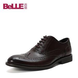 Belle/百丽牛皮男单鞋A4260DM6