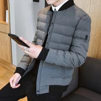 冬季外套男潮流韩版帅气修身棉衣加厚冬天男士2018新款小棉袄