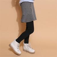 新款女童打底裤加厚外穿韩版潮洋气宝宝休闲保暖学院风