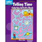 BOOST Telling Time Coloring Activity Book.