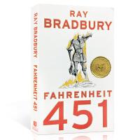 英文原版 Fahrenheit 451华氏451度青少年小说故事 英语课教材 精读和分析启蒙儿童写作技巧美国国家图书奖