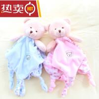 婴儿安抚巾布艺玩偶新生儿毛绒玩具手偶宝宝布偶儿童哄睡动物手套