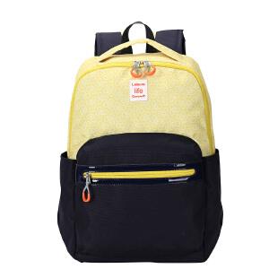 卡拉羊双肩包背包男数码笔记本电脑包休闲旅行便捷包轻盈防泼水CX5941