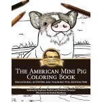 【预订】American Mini Pig Coloring Book