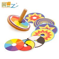 百变陀螺木制创意玩具传统怀旧儿童木质玩具有趣味好玩