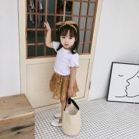 新款夏装洋气女童套装裙子儿童短袖公主裙女宝宝半身裙
