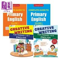 【中商原版】新加坡小学英语G1-G6学习套装共4册