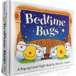 Bedtime Bugs 书里藏着好多虫 儿童趣味认知 精装立体书拉拉书