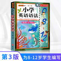 正版英语 第3版小学英语语法 小学小学英语语法全解外文社彩色插图版 小学英语语法入门用书专为8-12岁学生编写