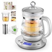 家用全自动加厚玻璃养生壶多功能燕窝壶炖盅烧水壶黑茶煮茶器