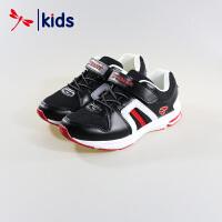 【2件3折到手价:38.7元】红蜻蜓童鞋男童中大童透气网眼跑步鞋