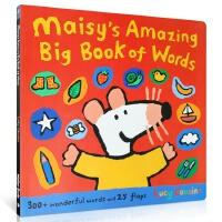 【全店300减110】英文原版绘本 Maisy's Amazing Big Book Of Words 小鼠波波启蒙英语
