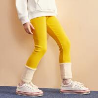 【1.19秒杀价:47】巴拉巴拉旗下巴帝巴帝女2019秋冬新款甜美好搭打底裤
