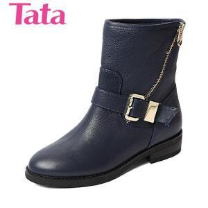 Tata/他她 专柜同款小牛皮女靴2YWA6DZ5 专柜1