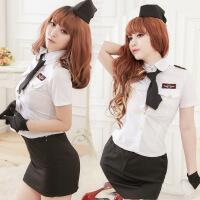ESibibi 情趣服装角色扮演服装欧美情趣游戏装制服诱惑女警服S120