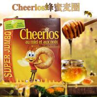 晶磨 加拿大进口Cheerios燕麦圈 755g 蜂蜜全谷物即食早餐麦片麦圈 通用磨坊进口麦圈