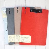 晨光A4文件夹 PP试卷夹板夹 竖式横式彩色折页板夹 学生办公用资料夹