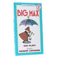 英文原版Big Max 大马克斯汪培�E第三阶段读物 I Can Read Book