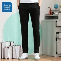 [到手价:79元]真维斯男装 2020春装新款 弹力斜纹休闲长裤