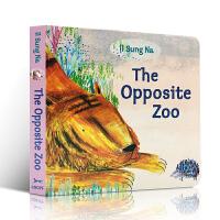 英文原版绘本 The Opposite Zoo 0-3-6岁幼儿启蒙认知早教绘本 反义词 Il Sung Na 启蒙入门 韩国插画名家伊尔宋娜作品