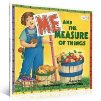 英文原版绘本 Me and the Measure of Things 奇妙的度量单位 度量概念启蒙 Joan Sweeney