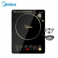 Midea/美的 电磁炉 触控按键 黑晶面板 八档火力 一键爆炒 定时功能 C21-WK2102