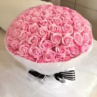 香皂花礼盒99朵玫瑰花 结婚礼物创意 实用 闺蜜礼品生日女生礼品
