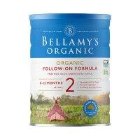 BELLAMY'S 澳大利亚 原装进口 贝拉米 奶粉 2段 6-12个月 900g 2罐装 正品保障保税仓发货
