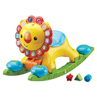 费雪 Fisher-Price ) 多功能早教启智玩具 声光狮子手推车学步车Y9854