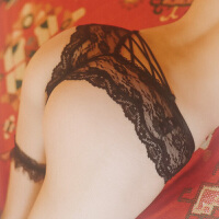 蕾丝情趣内裤女式蜜桃臀极度诱惑骚透视装性感衣服激情三角裤