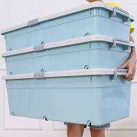 收纳箱大号床下整理盒抽屉式储物箱子三件套