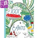 【中商原版】Joanna Rzezek 1001只蚂蚁 英文原版 1001 Ants 精装 动物百科绘本