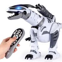 电动恐龙玩具 遥控智能战龙大霸王龙机器人6岁以上男孩儿童仿真