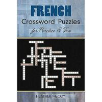 【预订】French Crossword Puzzles for Practice and Fun
