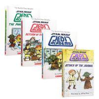 英文原版 Jedi Academy Trilogy Box Set (3 books) 星球大战系列 绝地武士学院 3