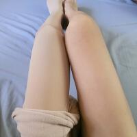光腿神器隐形加绒假透肉防脱丝连裤袜加厚连脚外穿肉色打底裤 均码