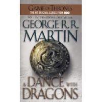 原版英文小说 A Dance with Dragons 冰与火之歌 卷5 :与龙共舞 文学版