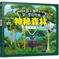 让孩子着迷的第一堂自然课神秘森林十万个为什么绘本儿童科普读物启蒙故事书3-4-5-6-7周岁小学生一二年级课外图书籍少