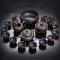紫砂茶具套装紫泥西施壶整套茶杯茶壶