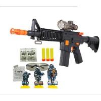1软弹枪水弹枪男孩儿童玩具枪 可打发射子弹狙击冲锋水枪[升级版]