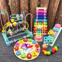 婴儿玩具6-12个月宝宝益智力绕珠串珠儿童积木1-3周岁2男女孩早教