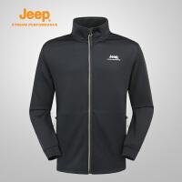 【特惠价】Jeep/吉普 男士户外夹克外套休闲长袖运动薄夹克J732096103