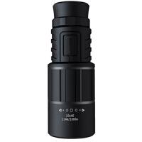 黑狐系列单筒望远镜双调焦高清绿膜手机摄影版
